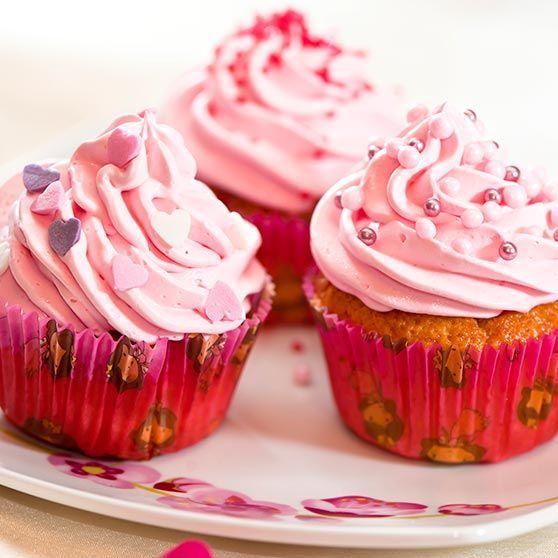 Muffinssien ohjeita: Vaaleanpunaiset unelmamuffinit