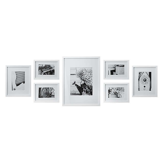 Gallery Perfect Frame Set | White at John Lewis