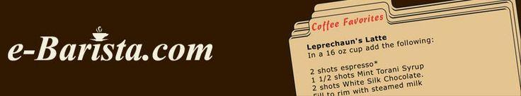 Coffee Recipes @ e-Barista.com - Your one stop Java Source 133 recipes!!