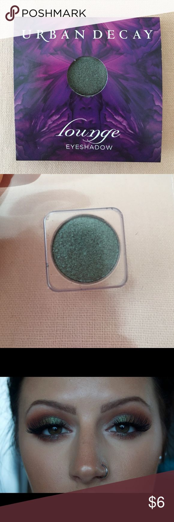 Urban Decay Lounge Eyeshadow Never been used. Photo for color reference only. This is a super cool color! I just don't think I could pull it off with my skin tone :) Urban Decay Makeup Eyeshadow