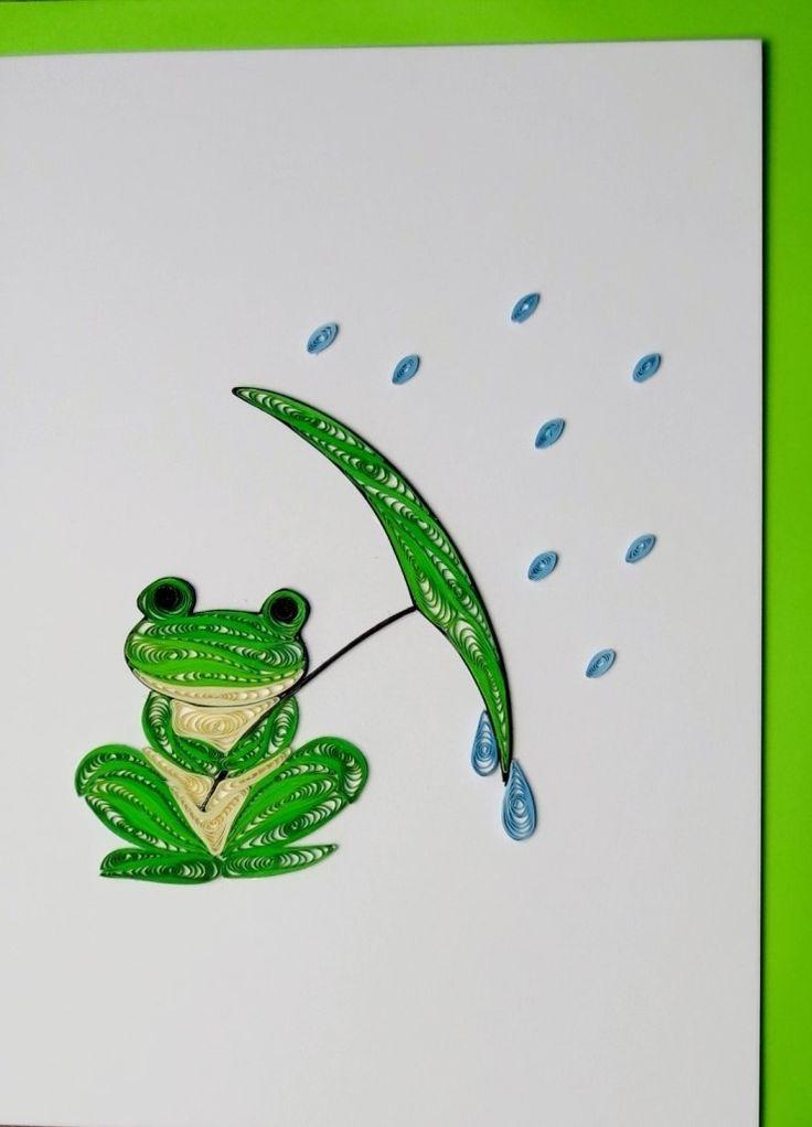 종이감기로 만든 카드 : 네이버 블로그