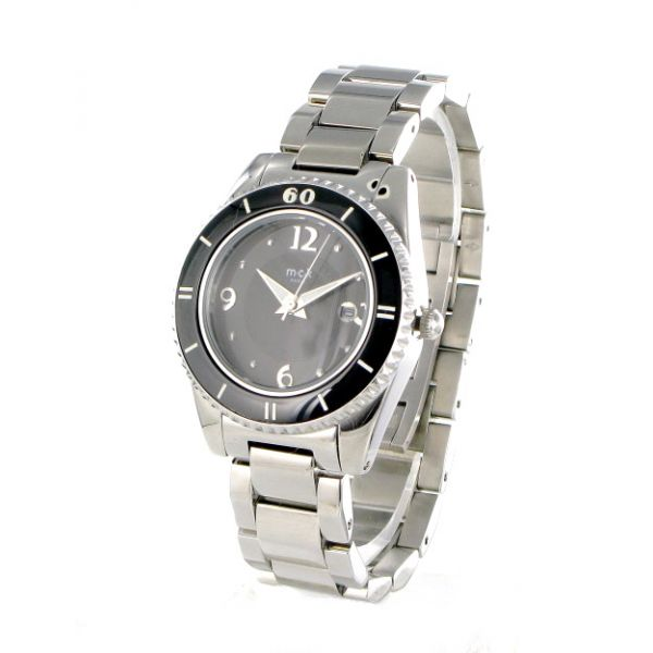 http://unemontretendance.com/333-montre-ronde-avec-cadran-ceramique-noir-bracelet-acier.html