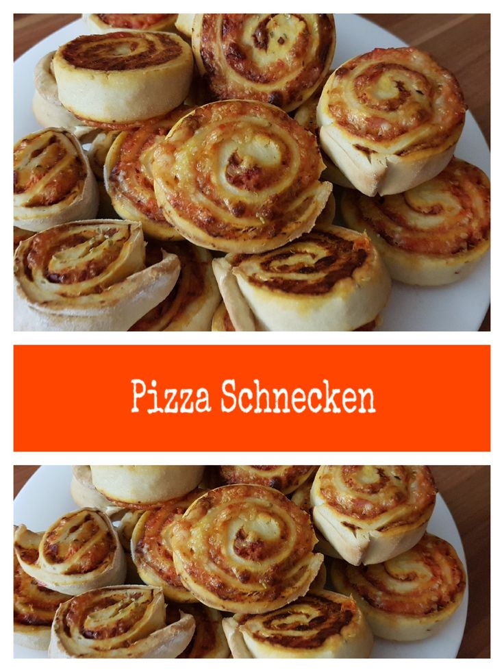 Recipe for pizza snails – made easy – tasty …