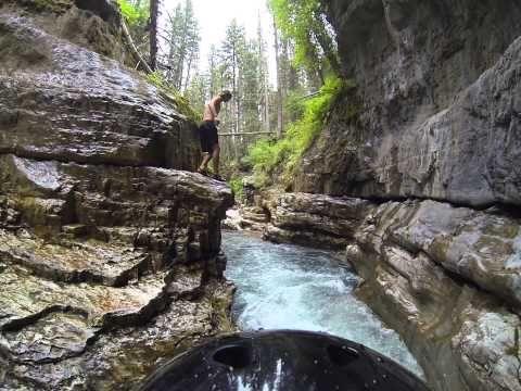 cascade creek waterfalls Durango Colorado - YouTube