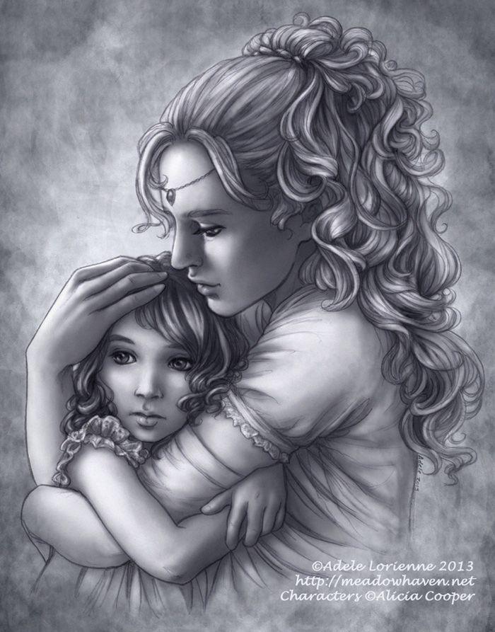 A Mother's Love by Saimain.deviantart.com on @deviantART