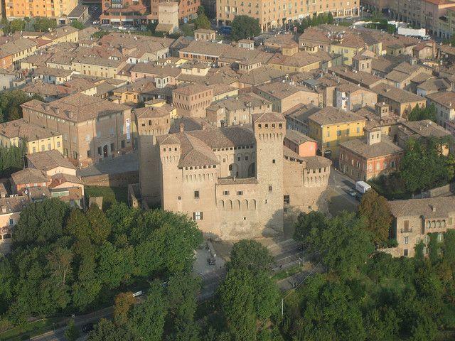 Vignola (Modena) Italy / Castello di Vignola