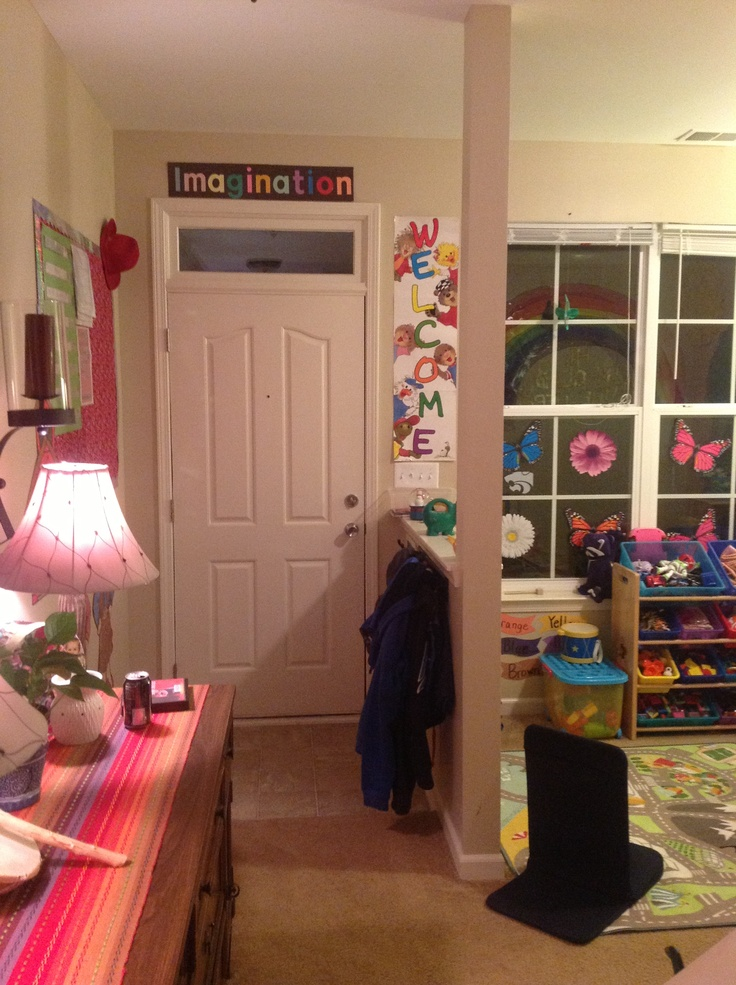 Perfect For My In Home Daycare Use The Sitting Room And: Home Childcare. Small Space Setup
