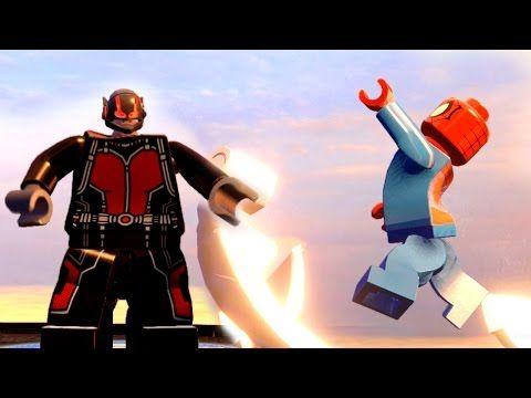 Spider Man Transformation vs Ant Man Transformation  LEGO MARVEL AVENGERS