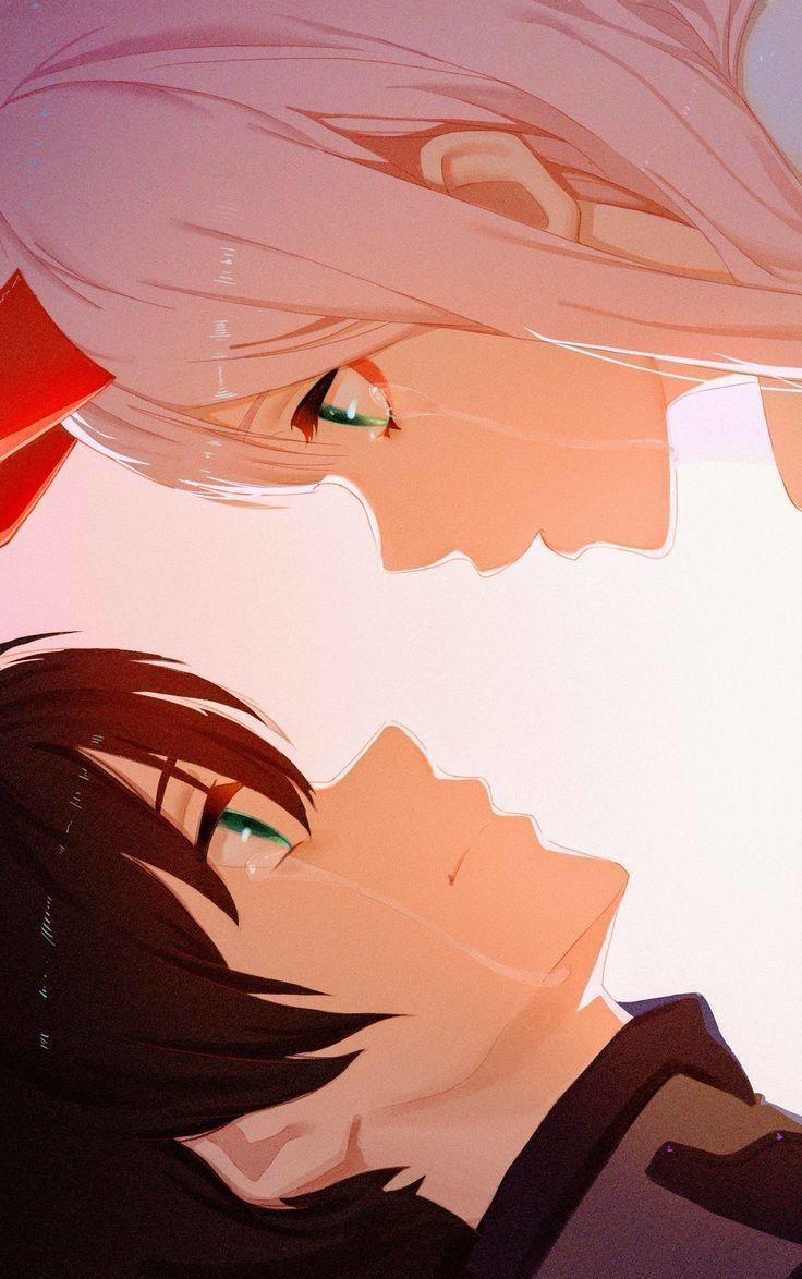 Zero Two X Hiro Wallpaper Romantic Anime Aesthetic Anime Darling In The Franxx