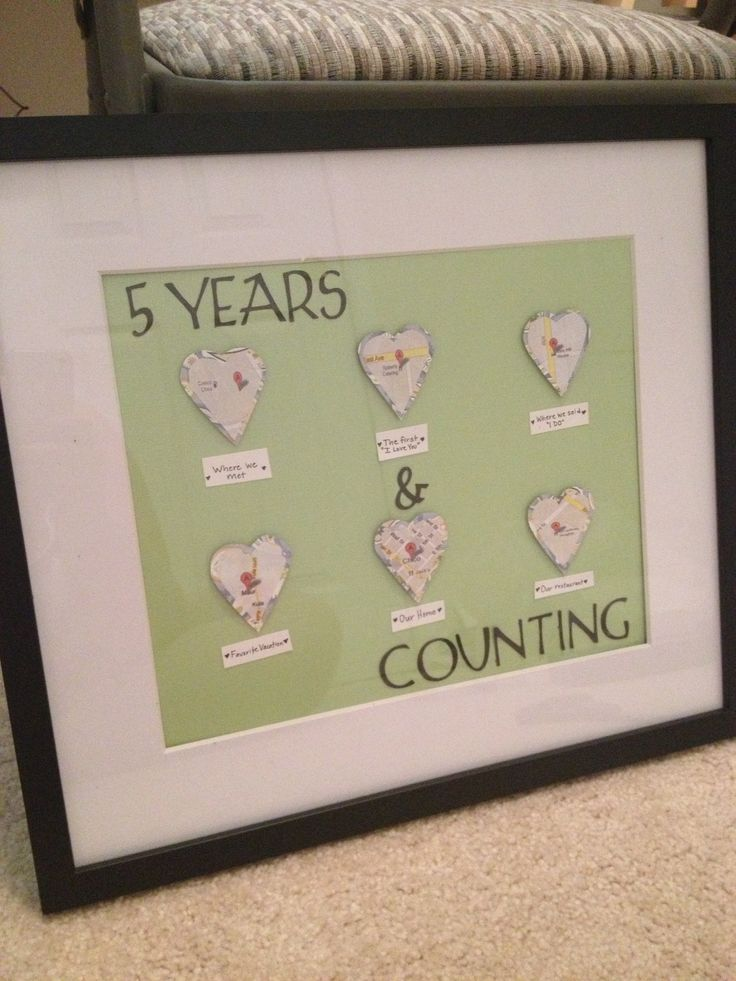 5 year anniversary gift ideas pinterest for 5 anniversary gift ideas