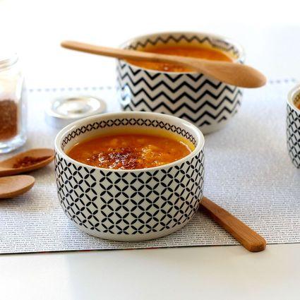 Soupe potimarron panais et épices Cajun