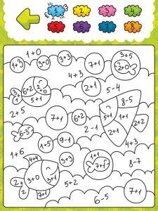 Coloring Smart – Fun and Education for kids- app review Wat leert mijn kind van deze educatieve app: Cijfers herkennen Vormen herkennen Kleuren herkennen Optellen en aftrekken t/m 10 Doelgroep 3 jaar en ouder