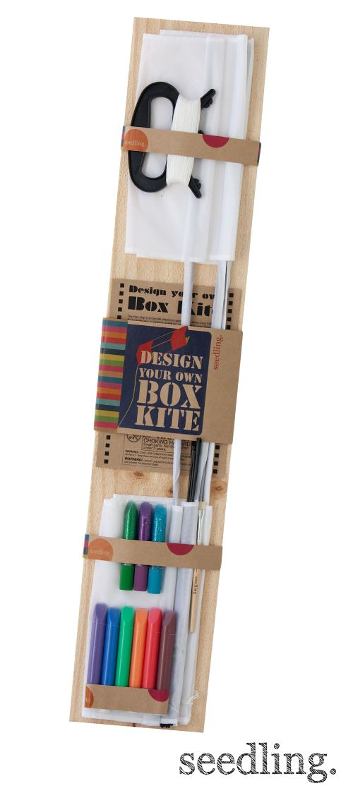 how to make a box kite for kids