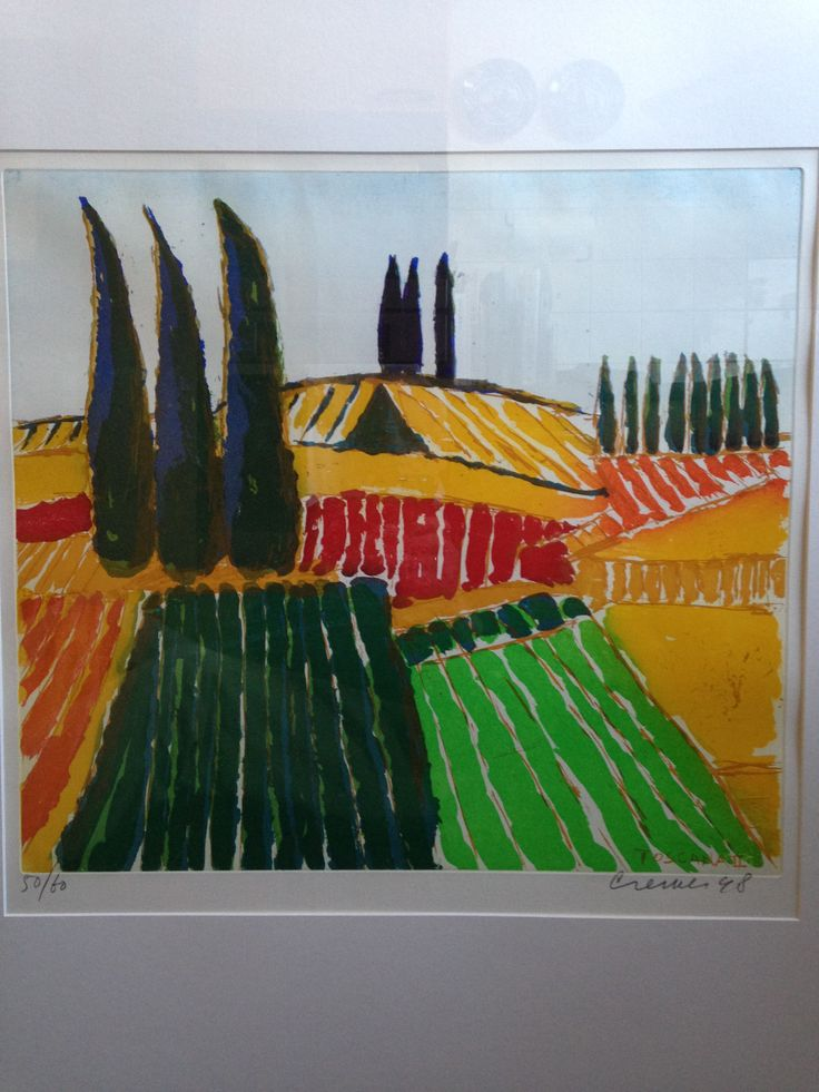 Jan Cremer. Toscana II 2015-10