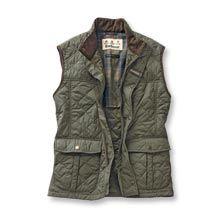 Barbour-Weste 'Explorer' in English Green    bestellen - THE BRITISH SHOP - englische Kleidung online günstig kaufen
