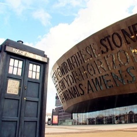 """Roald Dahl Plass, Cardiff, Wales 