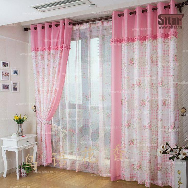 17 mejores im genes sobre cortinas de sala dormitorio for Cortinas blancas dormitorio