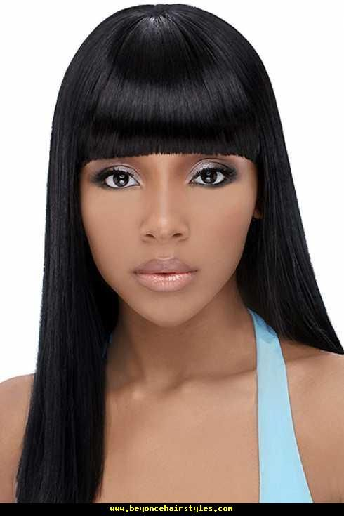 Awe Inspiring 1000 Images About Black Weave Hairstyles Long Silky Straight On Short Hairstyles For Black Women Fulllsitofus