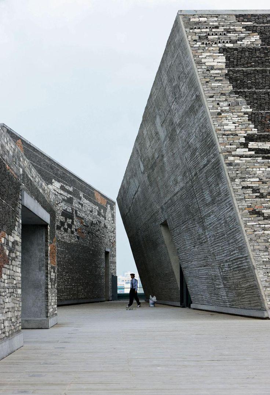 Ningbo Historic Museum Wang Shu Pritzker Price 2012