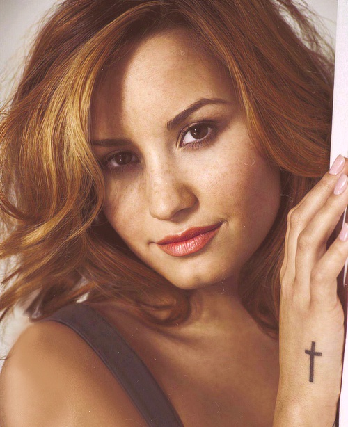 17 best images about demi lovato on pinterest the birds for Demi lovato cross tattoo