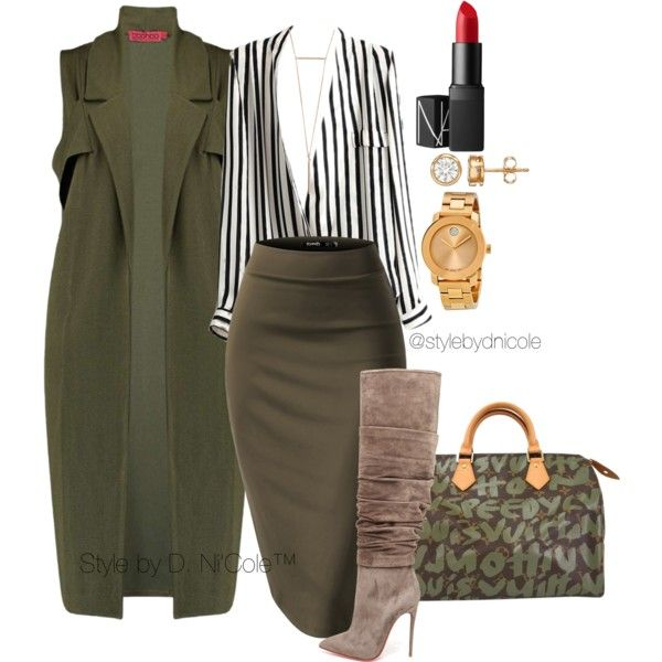 Untitled #3092 by stylebydnicole on Polyvore featuring Boohoo, Christian Louboutin, Louis Vuitton, Movado, NARS Cosmetics, women's clothing, women's fashion, women, female and woman
