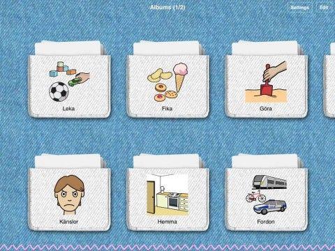 Recension av Pratkort - Att kommunicera med hjälp av bilder