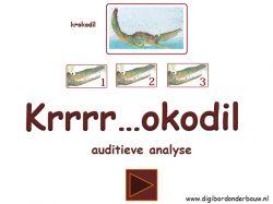 Digibordles: Krrrr...okodil: auditieve analyse op digibordonderbouw.nl