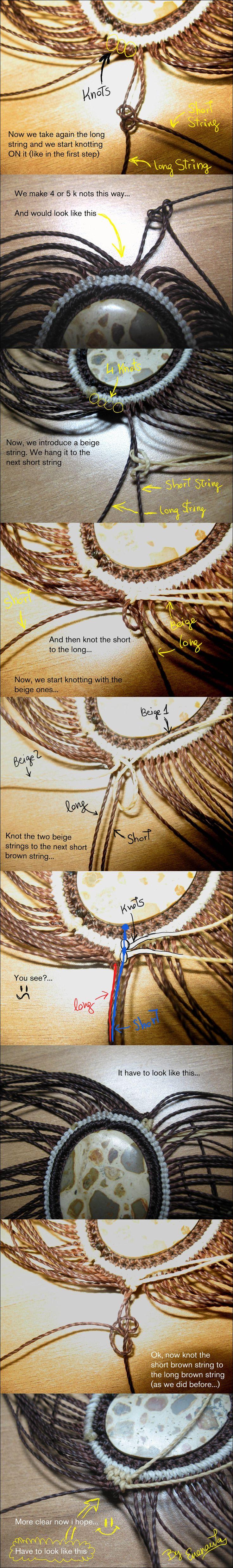 Tutorial part 3: Stone pendant by enenauta.deviantart.com on @deviantART