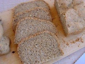 Ψωμί με αλεύρι Ζέας και Σίκαλης.