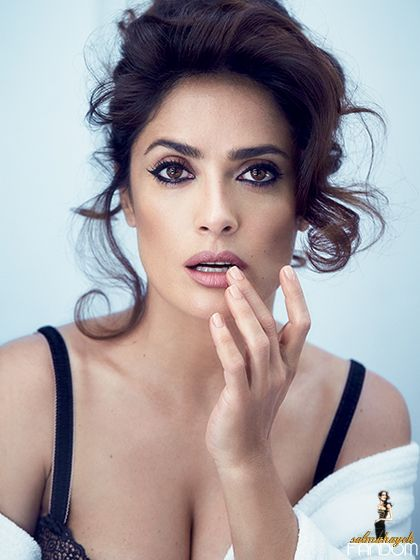 Salma Hayek Fandom — Salma Hayek covers the August issue of Allure...