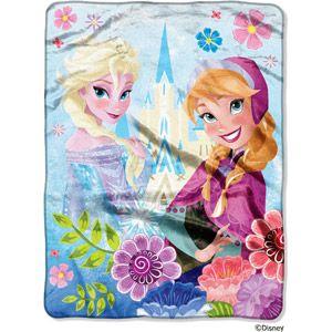 """Disney's Frozen Micro Raschel Throw, 46"""" x 60"""""""