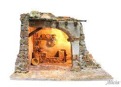 Belenes artesanos para figuras de 12 cm - Alicia Torres