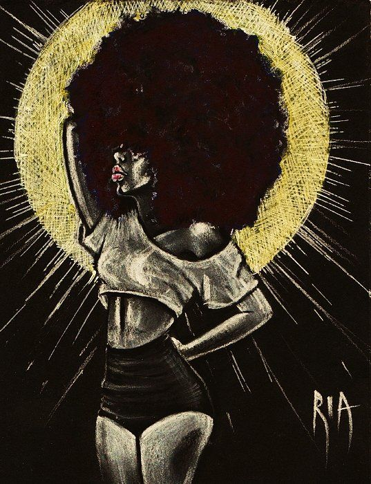 Let It Shine Print By Ria Ria