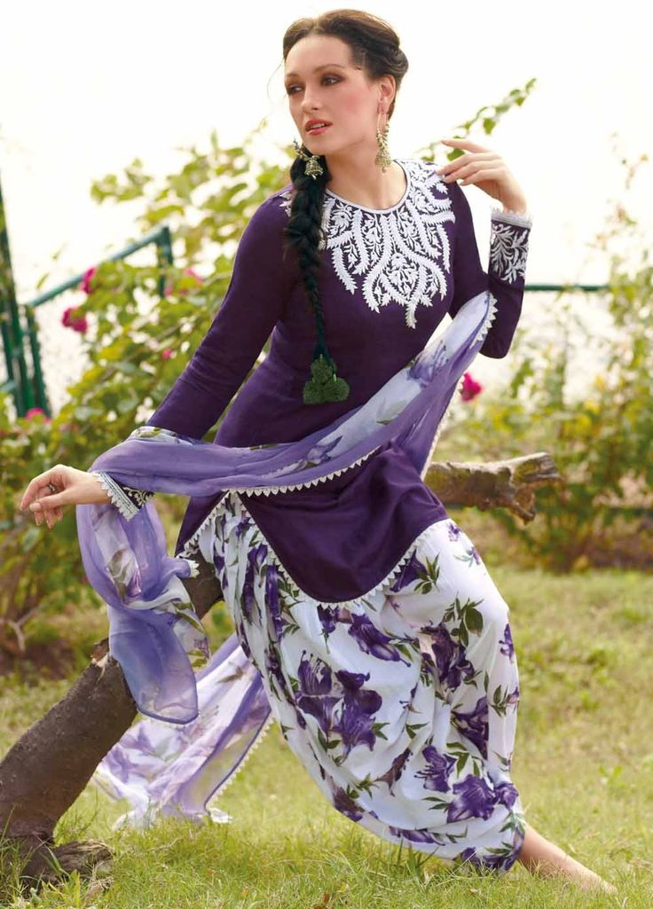 #Patiala #Salwar #Suit #Online @ #BestPrice. Fabulous and Beautiful Dyed #Cotton Jacquard Suit with Bamberg Chiffon Dupatta 8287B. Product price #Rs3299, #ReadyToShip, #EID25%Discount