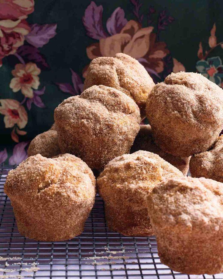 Pumpkin Doughnut Muffins Recipe from Martha Stewart