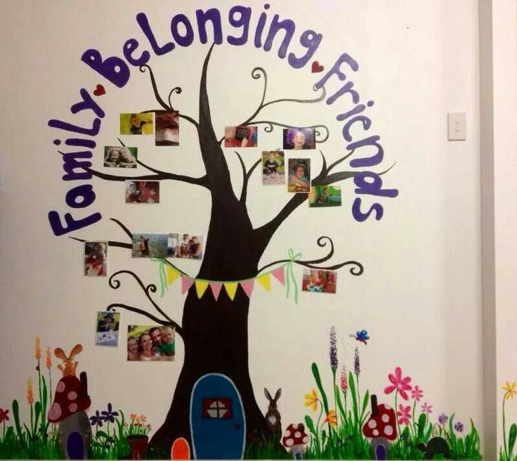 Preschool Classroom Family Tree Ideas ~ Best belonging child care images on pinterest family