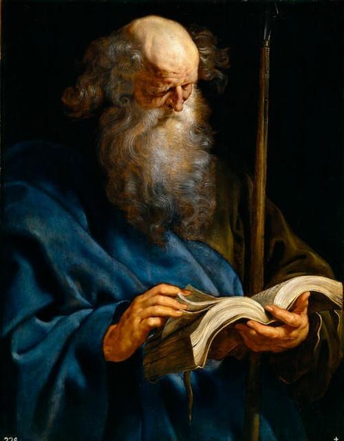 unclegrimace: St. Thomas, from Peter Paul Rubens' Twelve ...