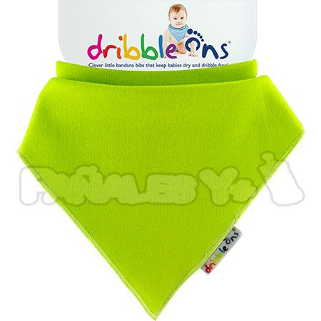 #DribbleOns Verde #quitababas #bebe #babero http://www.panalesymas.com/baberos/babero-dribble-ons.html