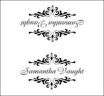 Elegant place card template- website also has free invitation and other printable templates