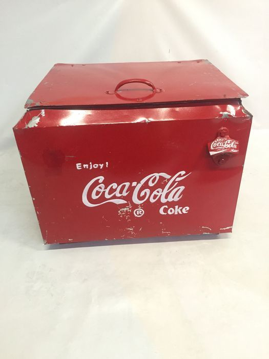 Vintage koelbox - Coca Cola