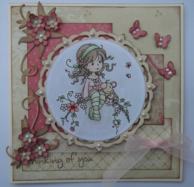 another card I made a while ago with Wee Sweet Blossom