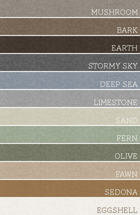 Take any set of 3 of these colors and each room would be amazing. A palette for the whole house!.