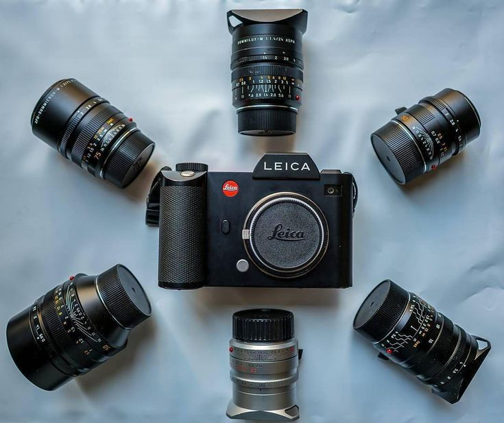 Beautiful collection featuring the Leica SL How many lenses do you own? | Photo by @rick.wong