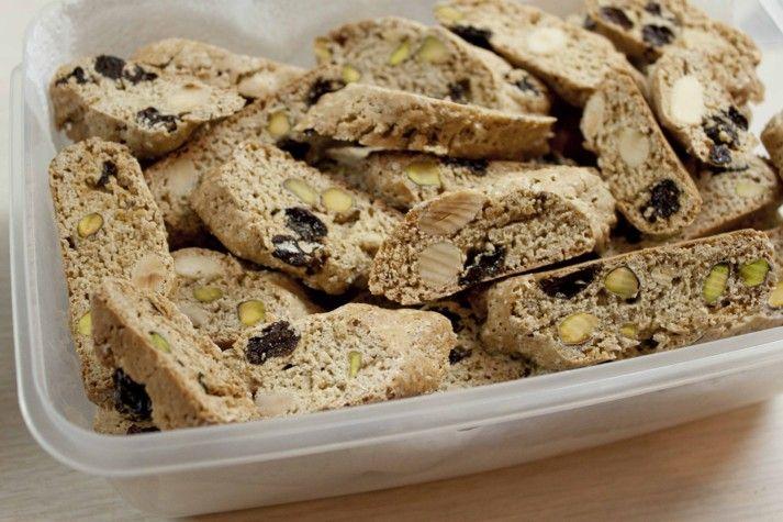 Italské sušenky Cantucci