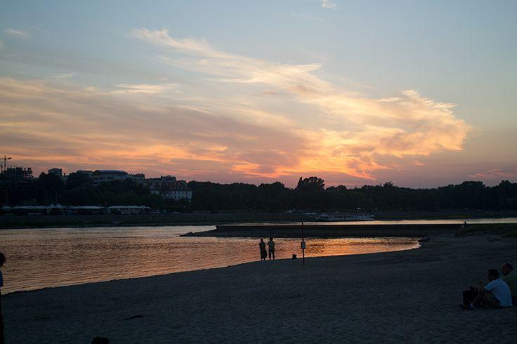 Vistula River, Warsaw, Poland // EuroTrip 2014