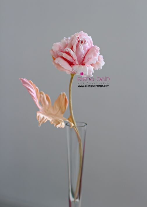 PDF and detailed video tutorials in Silk Flower Art http://www.silkflowerartist.com/