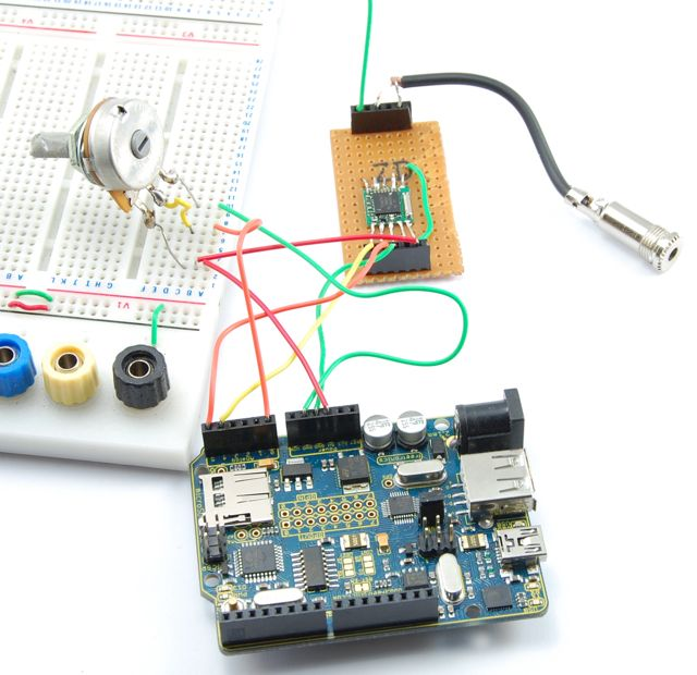TEA5767 FM Radio Breakout Board for Arduino