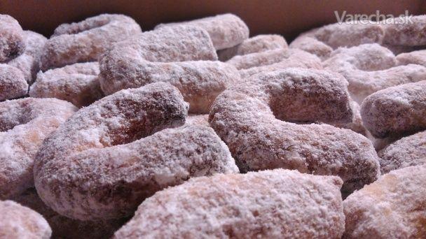 Vanilkové rožky (špaldové)