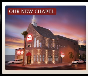 Las Vegas Wedding Chapels | Vegas Weddings Chapel Locations  Possible venue for renewal