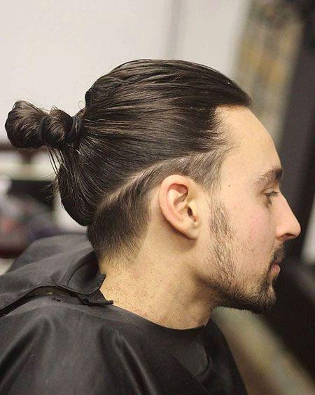 Trendy Hair Herren Lang Männer Under Trends Swept Hairs